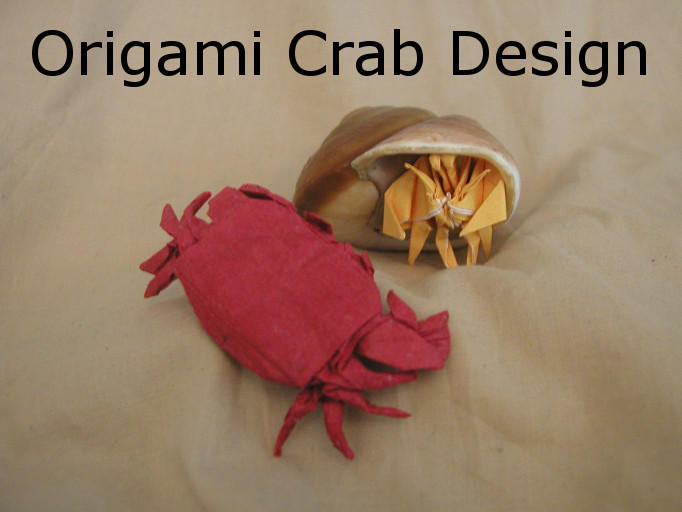 Origami Crab Pattern By DonyaQuick