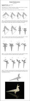 Origami T-rex Instructions