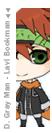 FLELE - Lavi Bookman from DGM by SasuNaru033