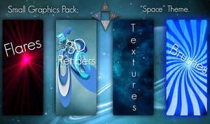Space Themed Graphics Pack - [Pxl]
