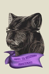 [Animation] Monstercat 7 Year Anniversary by TheEpicBlueKnight