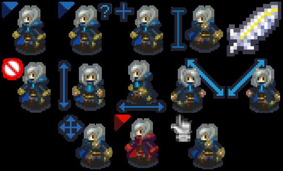 Fire Emblem F!Robin Mouse Cursors