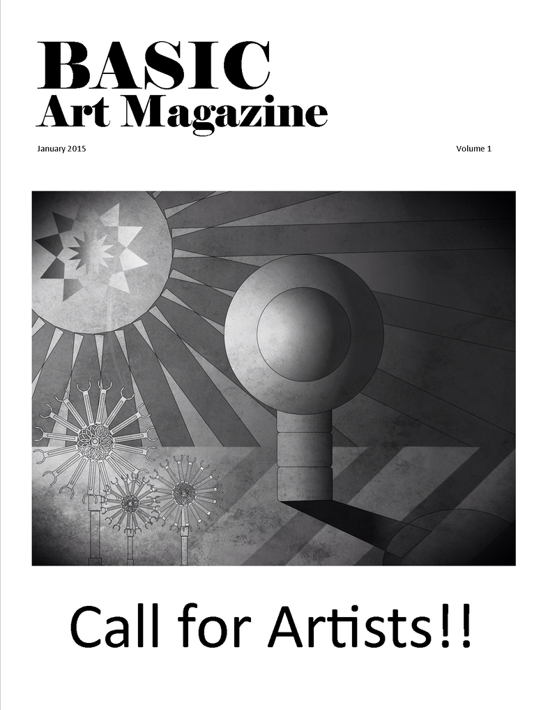 BasicArtMagazine Issue 1 January 2015 by azieser