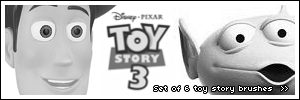 PS Brushes - Toy Story by umbrehla