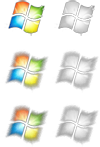 Windows 7 Flag Start Button by cclloyd9785