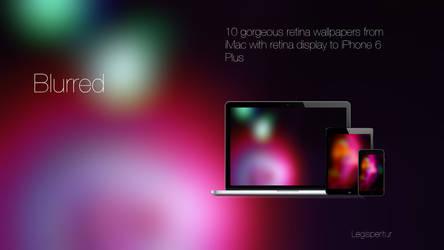 Blurred retina wallpapers