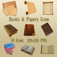 Books and Papers -- UPDATE by WickedDesktop