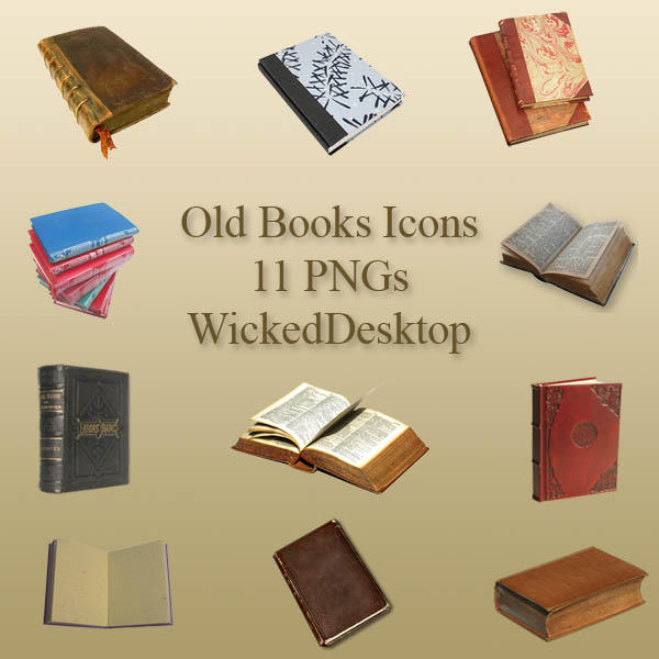 Old Books by WickedDesktop