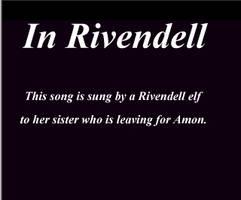 In Rivendell