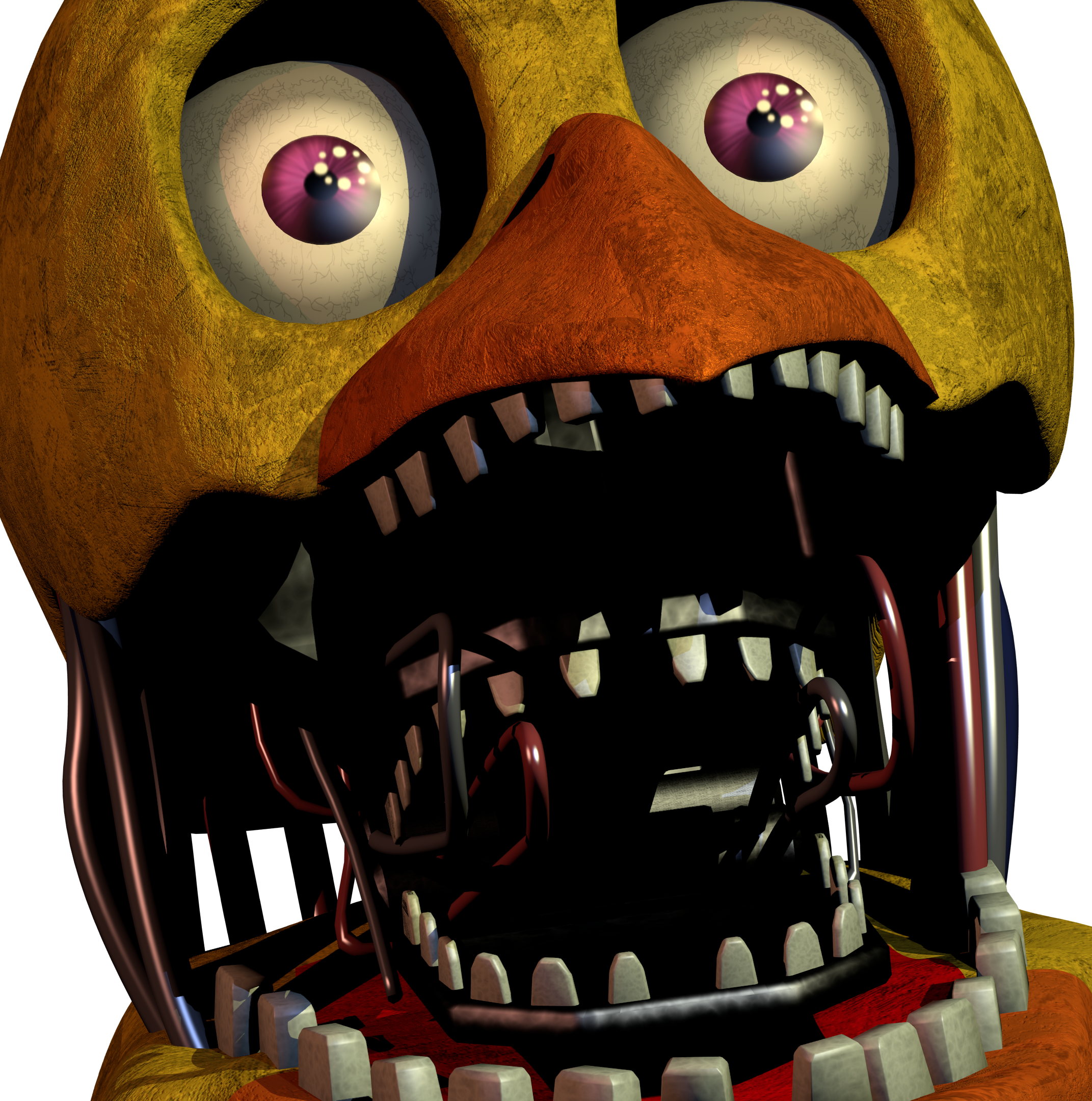 Images of Fnaf Withered Chica - #rock-cafe
