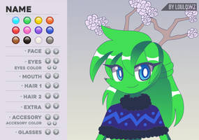 Spaicy Fancharacter Maker - Female