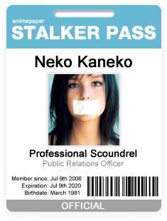 Stalker Pass - Badge ID Card