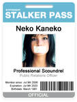 Stalker Pass - Badge ID Card
