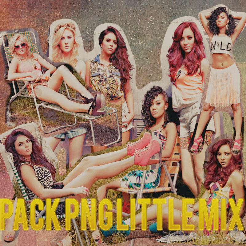 Pack png de Little Mix by bypame