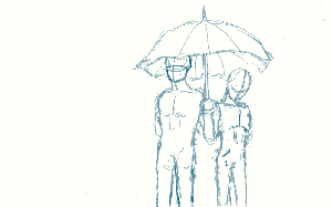 Rough Draft: LGBT Tribute by SilentYaoiLover