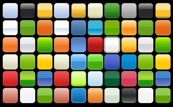 Button Design Layer Styles