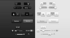 Light And Dark User Interface