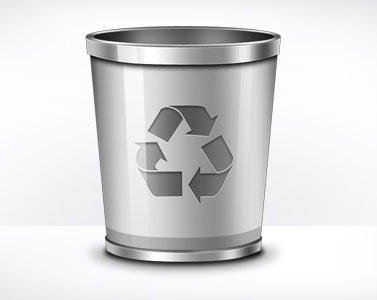 Recycle Bin Icon (PSD) by softarea