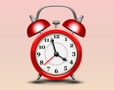 Alarm Clock Icon (PSD)