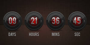 Flip Clock Countdown (PSD)