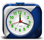 Electronic Alarm Clock Icons (PSD)