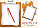 Clipboard PSD And Icons