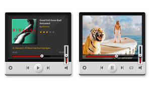Music and Video Players (PSD)