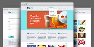 BisLite - HTML Coded And PSD Template
