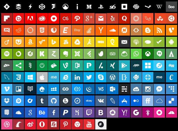 Flatoids - Free Icons by softarea