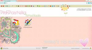 Theme Pink Pastelia for Google Chrome