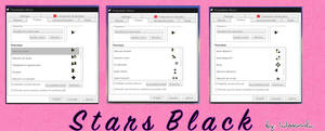 Cursor StarsBlack