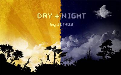 Day+Night Wallpaper Pack