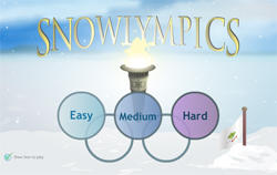 Snowlympics - Flash game