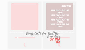 TEMPLATE THREE FOR TWITTER HEADERS by ciarasresources