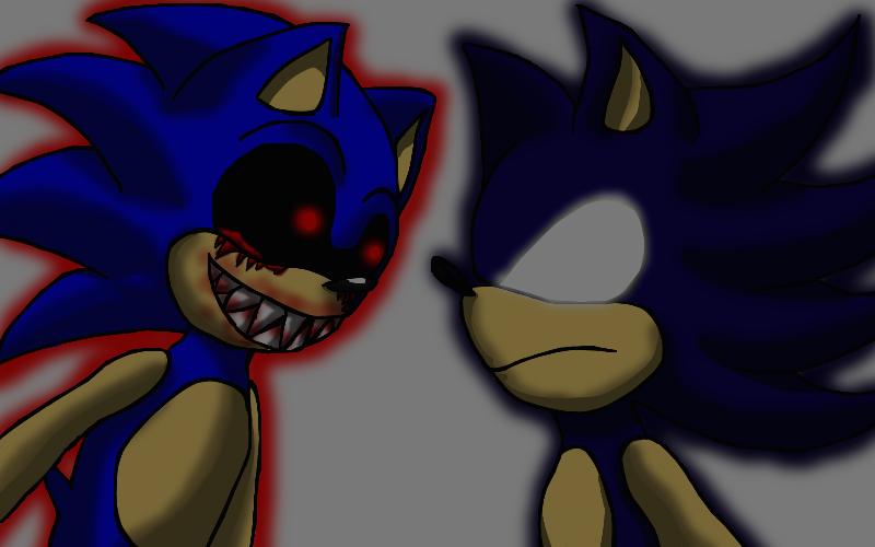 Sonic EXE AND Dark Sonic by xXMulti-Bunny-ChanXx on DeviantArt
