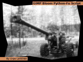 GIMP Bloom Python-Fu script by wwwwolf