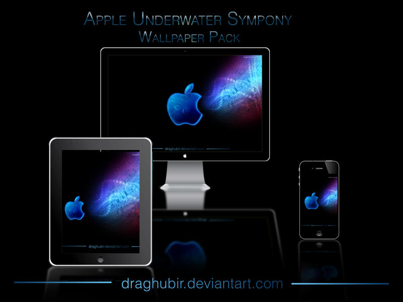 Apple Underwater Symphony by draghubir