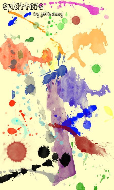 Splatter Brushes by jetbunny