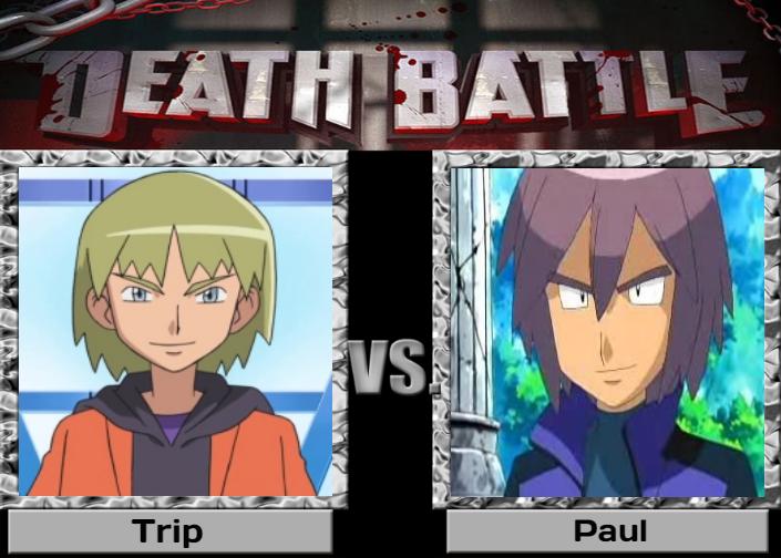 Death Battle: Trip (Pokemon) VS. Paul (Pokemon) by IsaacNoelIsCutie