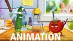 Kitchen Samurai (animation) by Tohad