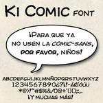 Ki Comic Font