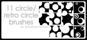 Retro Circle Brushes