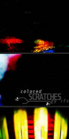 Colored Scratch textures