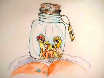 [Gift] - Bottled Joy by stardust0130