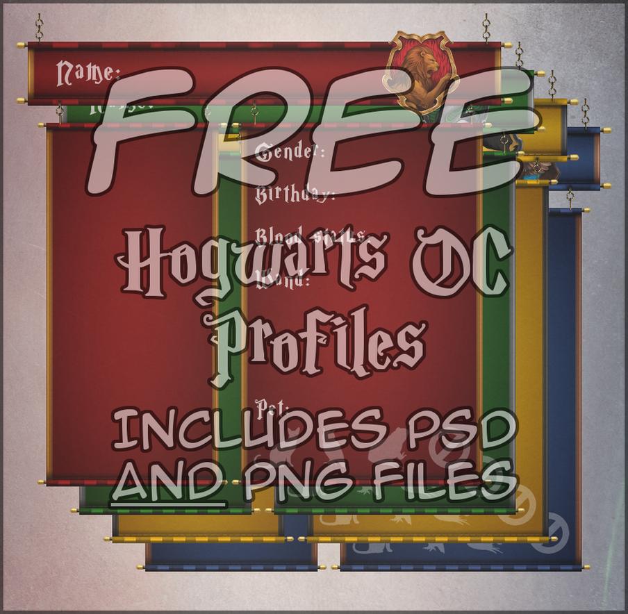 Harry Potter OC Profile Templates by LydianDragon on DeviantArt