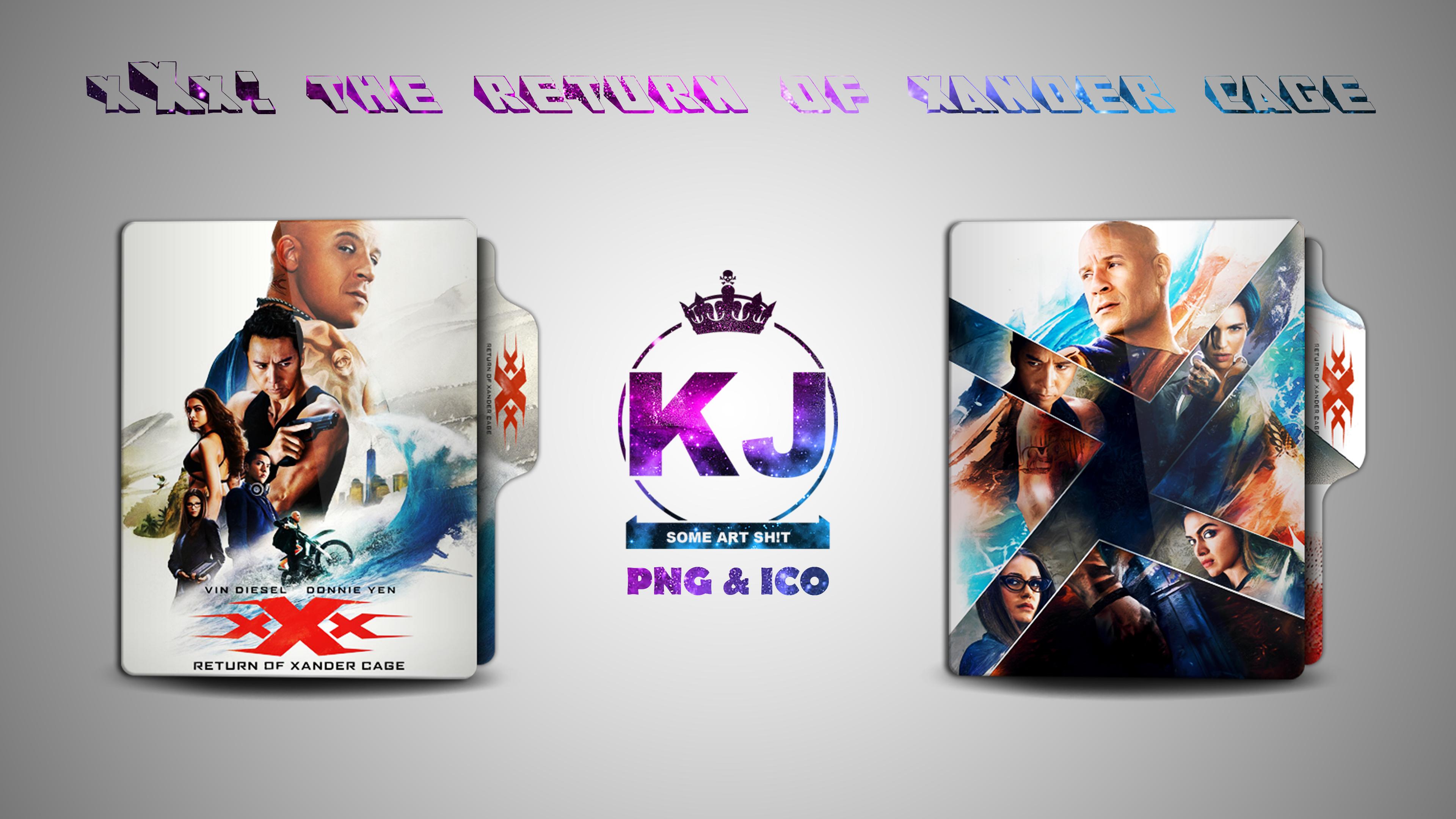 Xxx Return Of Xander Cage 2017 Folder Icon By Kingjoe93 On Deviantart