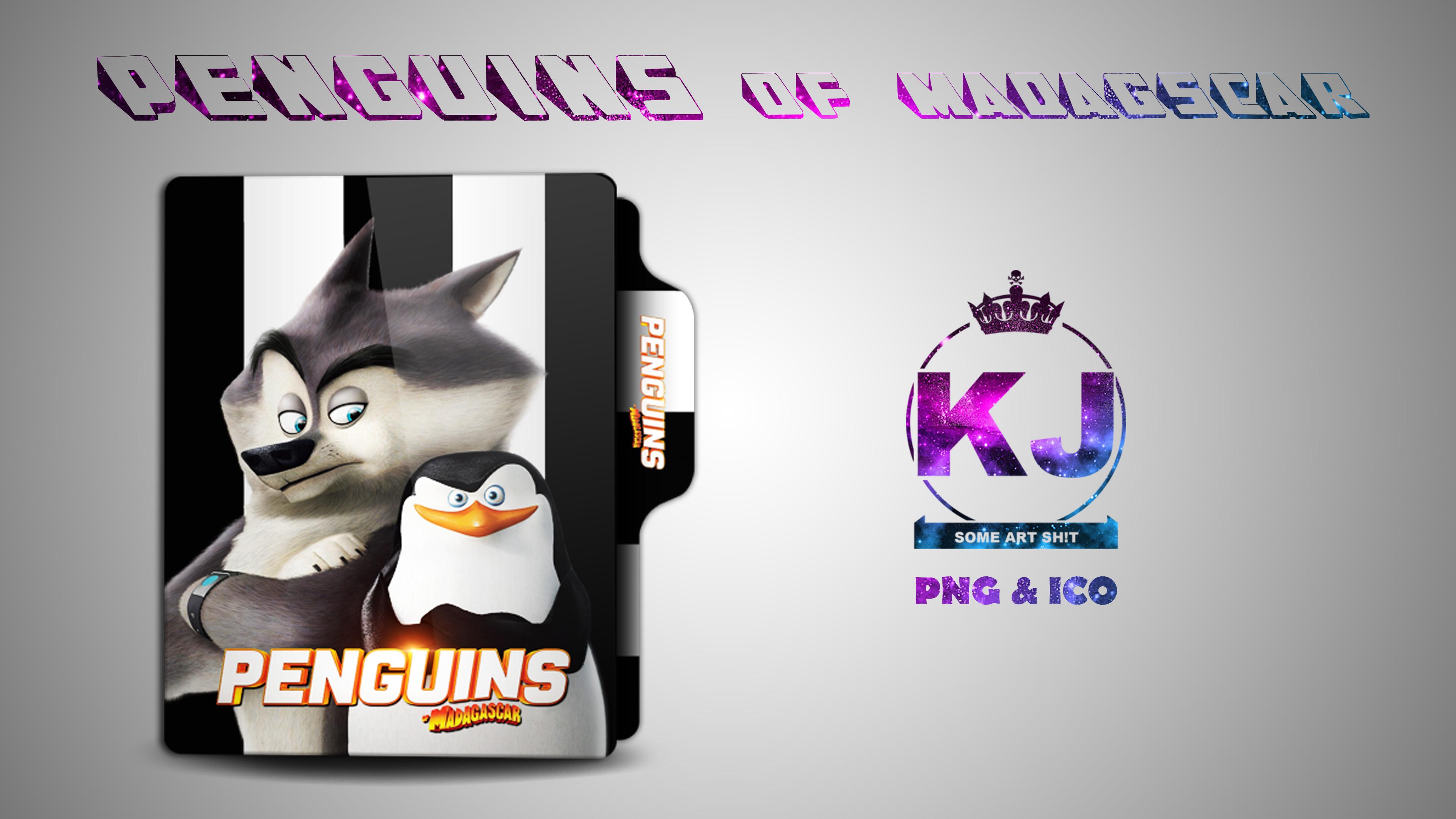 Penguins Of Madagascar 2014 Folder Icon By Kingjoe93 On Deviantart