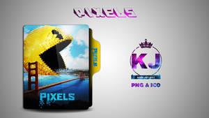 Pixels (2015) Folder Icon