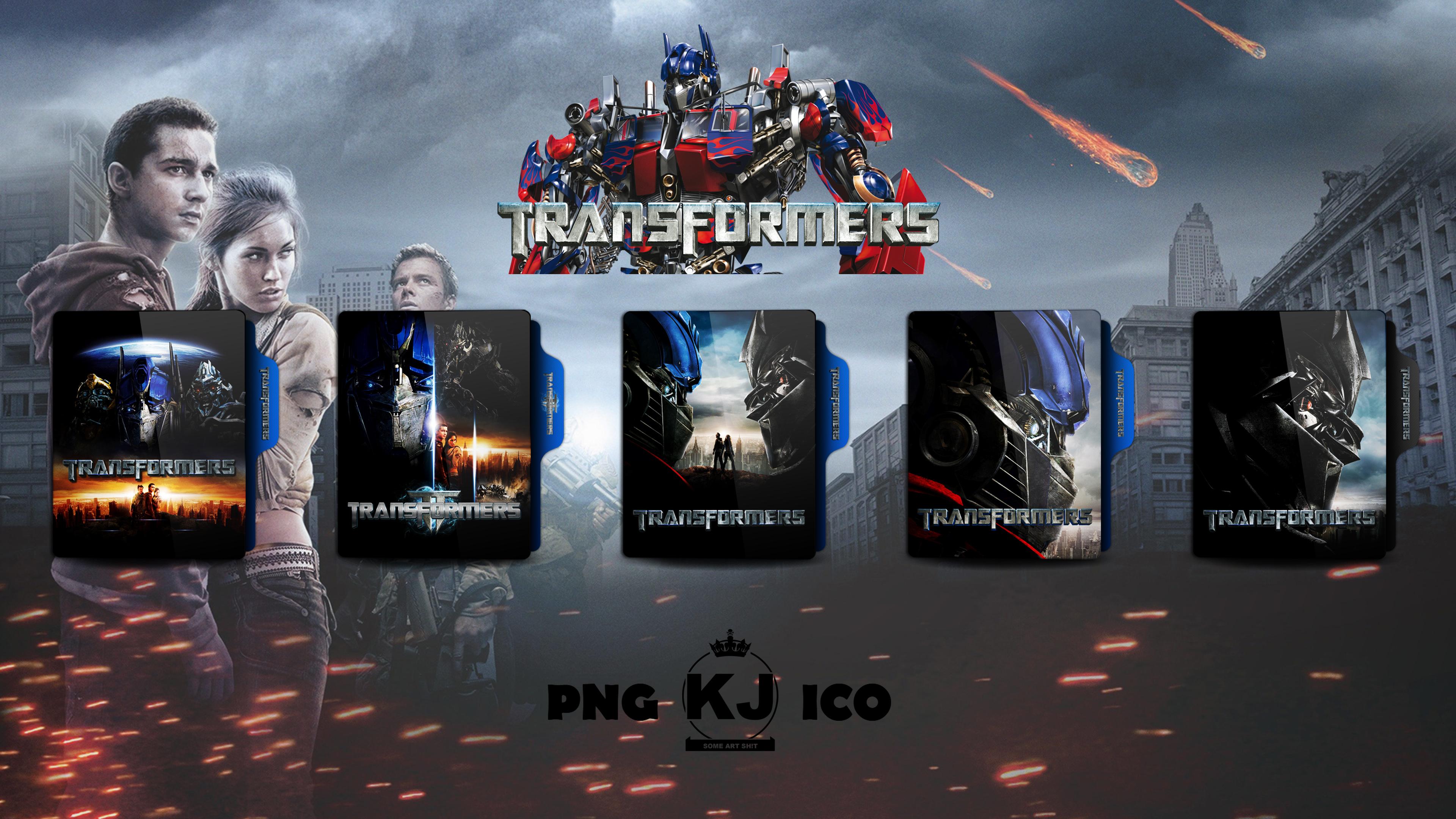 Transformers 2007 Folder Icon By Kingjoe93 On Deviantart
