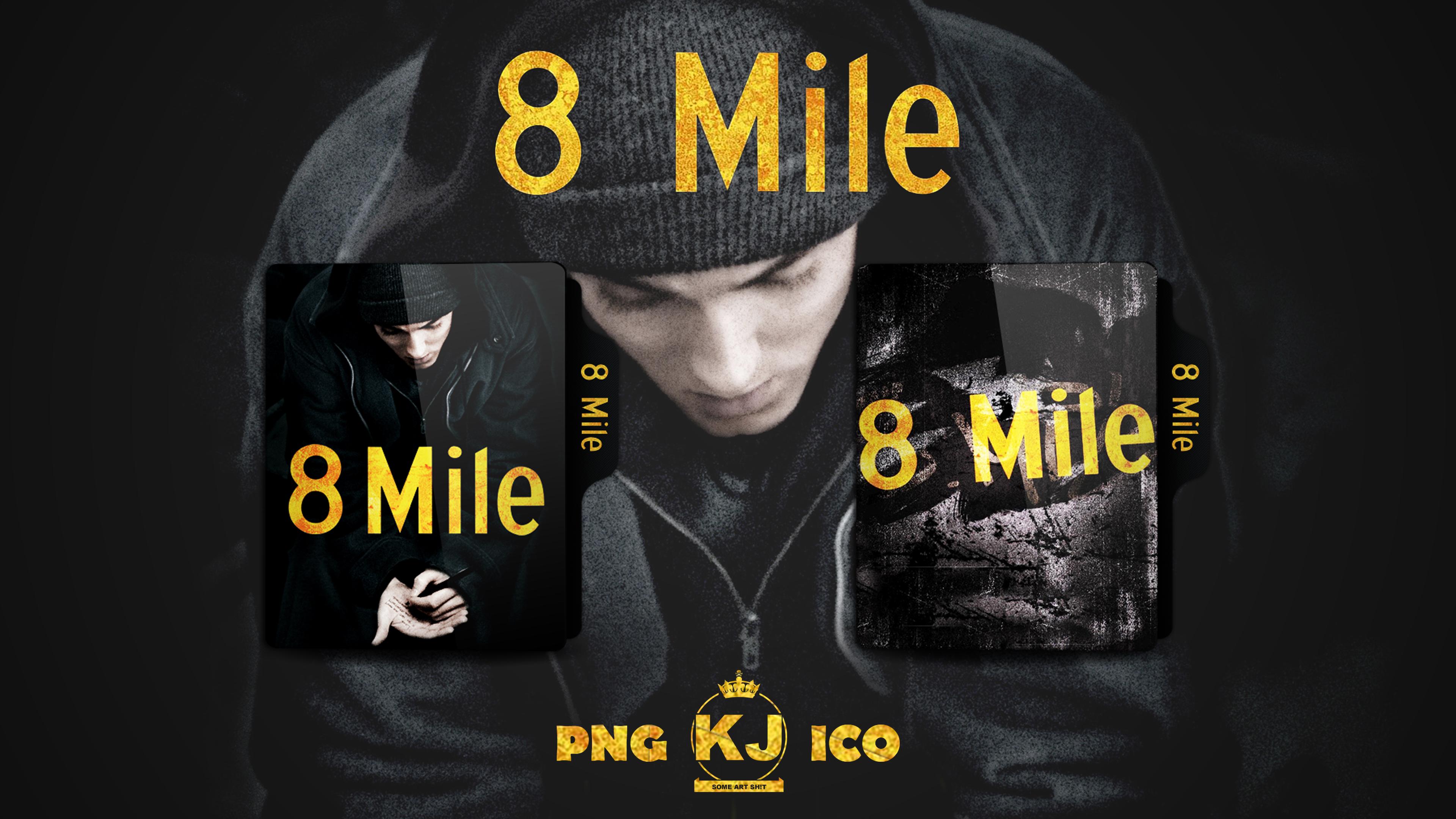 8 Mile 2002 Folder Icon By Kingjoe93 On Deviantart